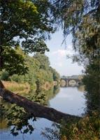 The Ribble at Brungerley Bridge