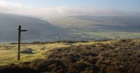 Looking over Littondale